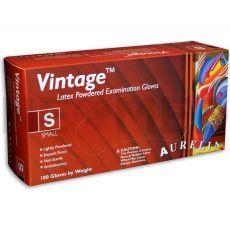 Γάντια Λάτεξ Εξεταστικά με πούδρα Vintage™ του οίκου Aurelia Αμερικής