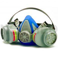 Μάσκα Προστασίας Αναπνοής Advantage 200 LS πλήρης με φίλτρα A2B2E1K1 P3 R του οίκου MSA Αμερικής