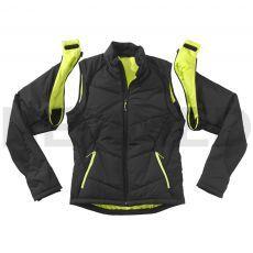 Αντιανεμικό Μπουφάν με Αποσπώμενα Μανίκια Zip Jacket GORE® WINDSTOPPER® Black της Γερμανικής HAIX