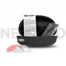 Βαλλιστικά Γυαλιά με Σκληρή Θήκη και Τρεις Διαφορετικούς Φακούς Alliant Tactical Smoke/HC Red/Clear του οίκου Tifosi Optics Αμερικής