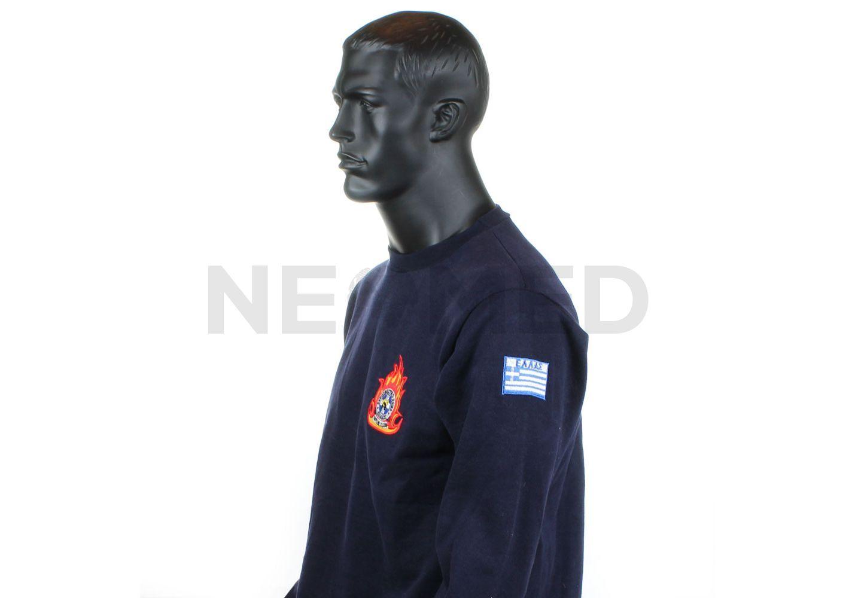 ... Μπλούζα Πυροσβεστικής Φούτερ με Κέντημα της Greek Forces ... 7cb711b7f44
