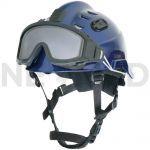 Κράνος Ασφαλείας HPS 3500 Premium σε μπλέ χρώμα με γυαλιά ασφαλείας του οίκου Dräger Γερμανίας