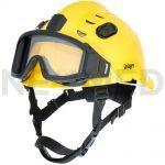 Κράνος Ασφαλείας HPS 3500 Premium σε κίτρινο χρώμα με γυαλιά ασφαλείας του οίκου Dräger Γερμανίας