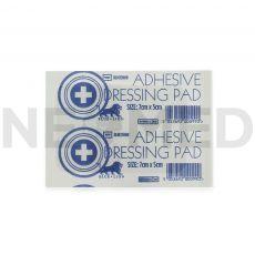 Αποστειρωμένο Αυτοκόλλητο Επίθεμα Γάζας 5 x 7 cm Adhesive Dressing Pad της Blue Lion Medical Αγγλίας