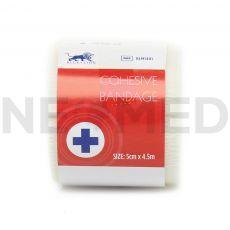 Συνεκτικός Αυτοσυγκρατούμενος Επίδεσμος Cohesive Bandage 5cm x 4.5m του οίκου Blue Lion Medical Αγγλίας