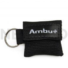 Μαντηλάκι Αναζωογόνησης σε μπρελόκ μαύρο Ambu Life Key