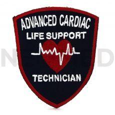 Ραφτό σήμα Διασώστης Εξειδικευμένης Καρδιακής Υποστήριξης του οίκου Spencer Ιταλίας