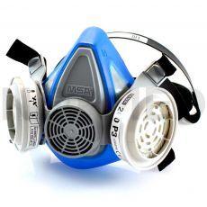 Μάσκα Προστασίας Αναπνοής Advantage 200 LS πλήρης με φίλτρα σκόνης P3 R του οίκου MSA Αμερικής