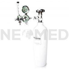 Φιάλη Ιατρικού Οξυγόνου 2 Lt με Ροόμετρο Στήλης