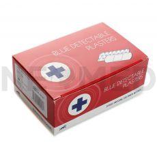 Λευκοπλάστες Ανιχνεύσιμοι Μπλε Blue Detectable Plasters της Blue Lion Medical