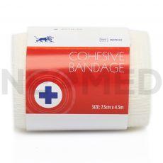 Συνεκτικός Αυτοσυγκρατούμενος Επίδεσμος Cohesive Bandage 7.5cm x 4.5m του οίκου Blue Lion Medical Αγγλίας