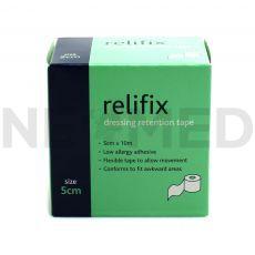 Ταινία Αυτοκόλλητη Στερέωσης Επιδέσμων Relifix 5cm x 10m του οίκου Reliance Medical Αγγλίας
