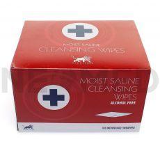 Απολυμαντικά Μαντηλάκια Καθαρισμού Δέρματος Χωρίς Αλκοόλη του οίκου Blue Lion Medical Αγγλίας