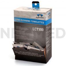 Μαντηλάκια Καθαρισμού για γυαλιά LCT100 κουτί 100τμχ του οίκου Pyramex Αμερικής