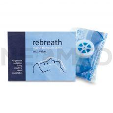 Μάσκα Ανάνηψης Μιας Χρήσης CPR Rebreath Shield του οίκου Reliance Medical Αγγλίας