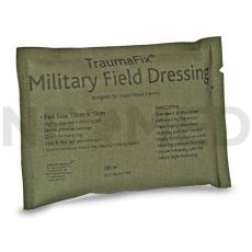 Στρατιωτικός Επίδεσμος Τραύματος Αιμοστατικός TraumaFix Military 10 x 19 cm του οίκου Reliance Medical Αγγλίας
