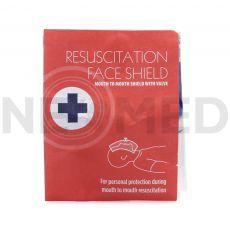 Μάσκα Ανάνηψης Μιας Χρήσης CPR Resuscitation Face Shield του οίκου Blue Lion Medical Αγγλίας