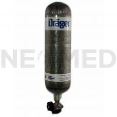Φιάλη Αναπνευστικής Συσκευής Χαλύβδινη 6 Lt / 300 Bar του οίκου Drager Γερμανίας