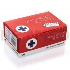 Λευκοπλάστες Αδιάβροχοι 2.5 x 7.6 cm του οίκου Blue Lion Medical Αγγλίας σε κουτί των 100 τεμαχίων
