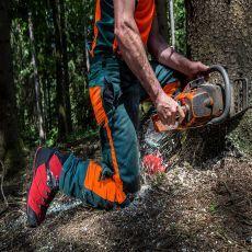 Άρβυλα Υλοτομίας και Δασικών Εργασιών Protector Ultra Signal Red από την HAIX