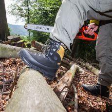 Μπότες Εργασίας Υλοτομίας Protector Alpin της HAIX Γερμανίας