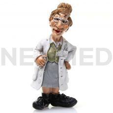 Διακοσμητικό Μαγνητάκι Γυναίκα Γιατρός 7.2 cm από τη NEOMED