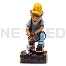 Μινιατούρα Αγαλματάκι Ξυλοκόπος 15 cm από τη NEOMED