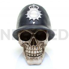 Μινιατούρα Κρανίο Αστυνόμος με Κράνος 15 x 15 cm από τη  NEOMED