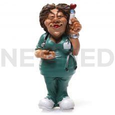 Διακοσμητικό Μαγνητάκι Νοσοκόμα 6.9 cm από τη NEOMED
