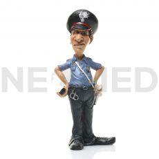 Μινιατούρα Αγαλματάκι Αστυνομικός 17.5 cm από τη NEOMED