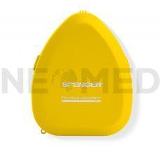 Μάσκα Ανάνηψης CPR Flex Mask σε κίτρινη θήκη του οίκου Spencer Ιταλίας