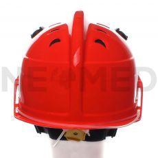 Πυροσβεστικό Κράνος Δασικής Πυρόσβεσης HPS 3500 Premium σε πορτοκαλί χρώμα με γυαλιά ασφαλείας του οίκου Dräger Γερμανίας