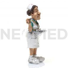 Αγαλματάκι Μινιατούρα Νοσηλεύτρια 16.5 cm από τη NEOMED