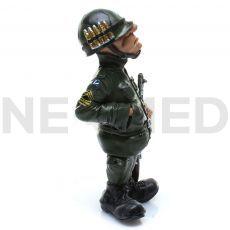 Μινιατούρα Αγαλματάκι Στρατιώτης 15.7 cm από τη NEOMED