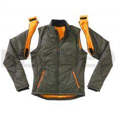Αντιανεμικό Μπουφάν με Αποσπώμενα Μανίκια Zip Jacket GORE® WINDSTOPPER® Olive της Γερμανικής HAIX