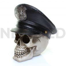 Μινιατούρα Κρανίο Αστυνόμος με Καπέλο 15 x 15 cm από τη  NEOMED