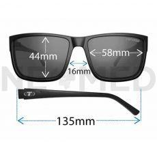 Γυαλιά Ηλίου Hagen 2.0 XL Crystal Smoke του οίκου Tifosi Αμερικής