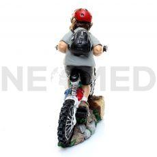 Μινιατούρα Αγαλματάκι Ποδηλάτης 17 cm από τη NEOMED
