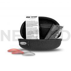 Βαλλιστικά Γυαλιά με Σκληρή Θήκη και Τρεις Διαφορετικούς Φακούς Veloce Tactical Smoke/HC Red/Clear του οίκου Tifosi Optics Αμερικής
