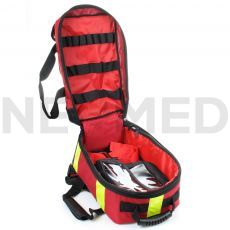Διασωστικό Σακίδιο Αυτόματου Εξωτερικού Απινιδωτή με Εσωτερικές Θήκες AED Backpack Compact του οίκου ARKY