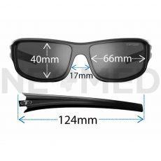 Γυαλιά Ηλίου Αθλητικά Bronx Gloss Black του οίκου Tifosi Αμερικής