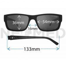 Γυαλιά Ηλίου Hagen 2.0 Gloss Black του οίκου Tifosi Αμερικής