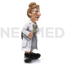 Μαγνητάκι Γυναίκα Γιατρός 7.2 cm από τη NEOMED
