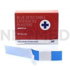 Τσιρότα Μπλε Ανιχνεύσιμα 12x2 cm σε κουτί 50 τεμαχίων του Αγγλικού οίκου Blue lion Medical