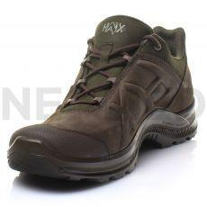 Παπούτσια Δερμάτινα Ορεινής Πεζοπορίας Black Eagle Nature GTX Low Brown/Olive του Γερμανικού Οίκου HAIX