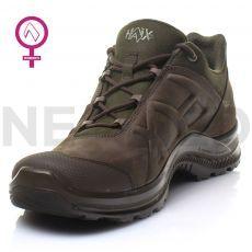 Παπούτσια Δερμάτινα Ορεινής Πεζοπορίας Black Eagle Nature GTX Low Women Brown/Olive του Γερμανικού Οίκου HAIX