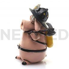 Πυροσβέστης Rolf Μινιατούρα Αγαλματάκι 10.5 cm από τη NEOMED