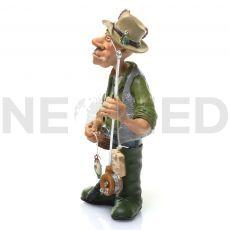 Ψαράς Μινιατούρα Αγαλματάκι 17.5 cm από τη NEOMED