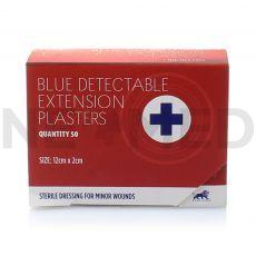 Λευκοπλάστες Μπλε Ανιχνεύσιμοι 12x2 cm σε κουτί 50 τεμαχίων της Blue lion Medical Αγγλίας