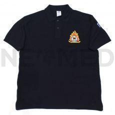 Μπλουζάκι Πυροσβεστικής Polo T-Shirt με Κέντημα Πυροσβεστικό Σώμα